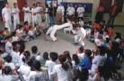 Rodas de capoeira e de conversa são aplicadas por Mestre Alcides de Lima e Mestre Dorival no CEACA.