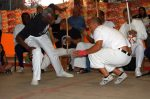 Roda de capoeira com a presença dos mestres, Amorim Lima, 2013