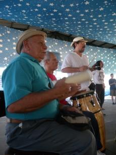 Durval do Coco participa do 14o. batizado na Escola Amorim Lima.