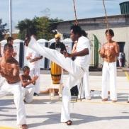 Roda de Capoeira, Fórum Mundial de Educação de São Paulo.