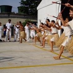 Maculelê, Fórum Mundial de Educação SP, 2004.